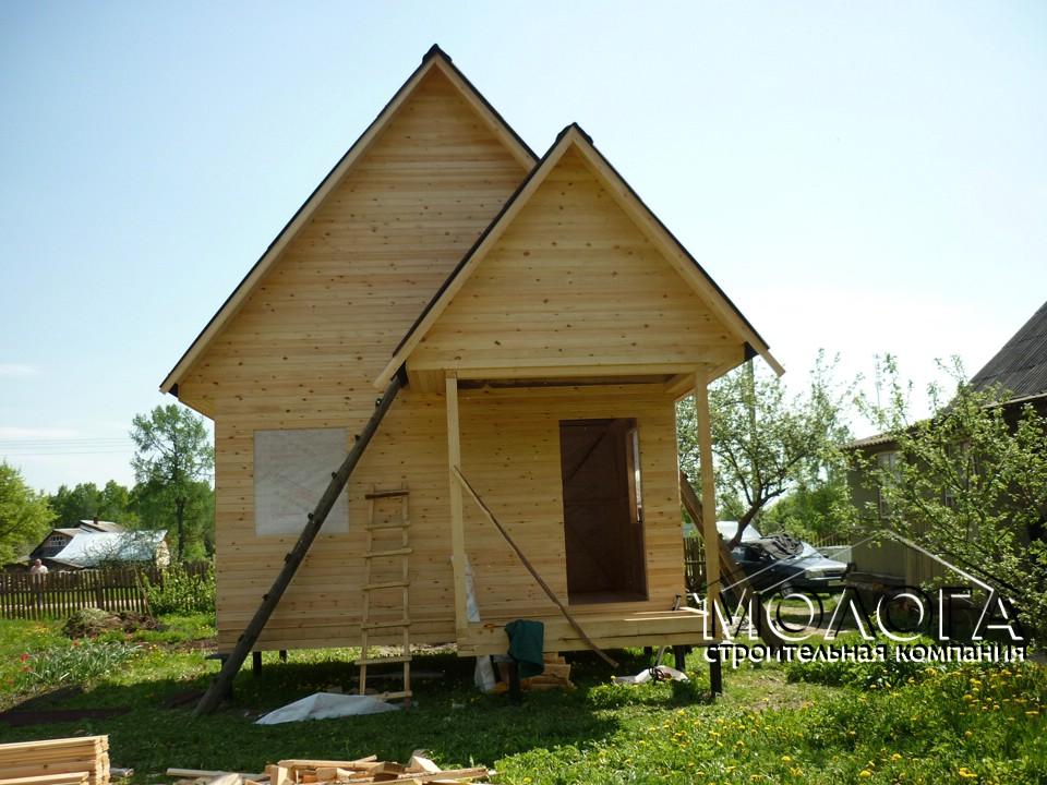 Каркасные дома 4х5